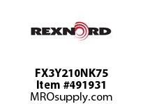 FX3Y210NK75 FLANG BLK FX3-Y210NK75 5869549