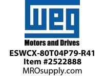 WEG ESWCX-80T04P79-R41 XP FVNR 50HP/460 N79 460/120V Panels