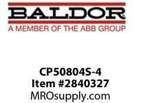 BALDOR CP50804S-4 800HP1792RPM3PH60HZ5012A50256M TEFC :