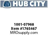 HubCity 1001-07968 PB150URX1-1/4S Pillow Block Bearing