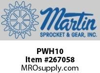 Martin Sprocket PWH10 WRPIPEIRONHAM-HEAD10