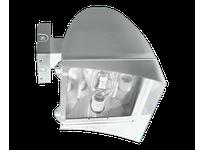 RAB FXLH400XPSQW FLEXFLOOD XL 400W MH PSQT HPF PULSE START WALL MNT LAMP WHT