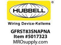 HBL_WDK GFRST83SNAPNA 20A COM ST HG SNAP GFR USA BROWN