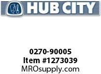 HubCity 0270-90005 SSA265 30/1 A WR 56C 1.250