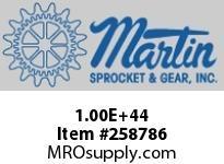 Martin Sprocket 100E43 SPK ROLLER QD