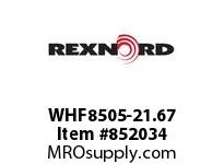 REXNORD WHF8505-21.67 WHF8505-21.67 WHF8505 21.67 INCH WIDE RUBBERTOP M
