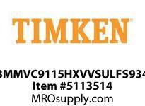 TIMKEN 3MMVC9115HXVVSULFS934 Ball High Speed Super Precision