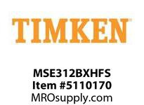 TIMKEN MSE312BXHFS Split CRB Housed Unit Assembly