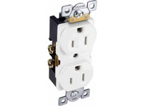 Orbit CR15-W 15A COMMER. DUPLEX RECEPTACLE S/G WHITE