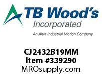 TBWOODS CJ2432B19MM CJ24/32X19MM HUB