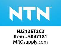 NTN NJ313ET2C3 CYLINDRICAL ROLLER REARINGS CYLINDRICAL ROLLER BEARING