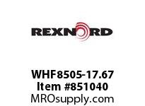 REXNORD WHF8505-17.67 WHF8505-17.67 WHF8505 17.67 INCH WIDE RUBBERTOP M