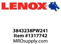 Lenox 3843238PW241 PORTA-BAND-PW 3 8 7/8X1/2X020X24CW -1140 X 13 X .05MM