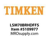TIMKEN LSM70BRHDFFS Split CRB Housed Unit Assembly
