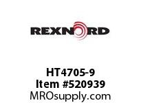 REXNORD HT4705-9 HT4705-9 148366