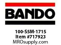 Bando 100-S5M-1715 SYNCHRO-LINK STS TIMING BELT NUMBER OF TEETH: 343 WIDTH: 10 MILLIMETER