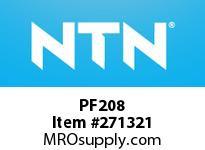 NTN PF208 STEEL HOUSINGS