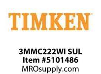TIMKEN 3MMC222WI SUL Ball P4S Super Precision