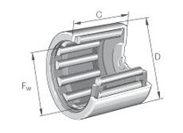 INA BCH2020 Drawn cup needle bearing