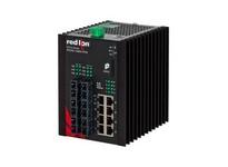 NT24K-14GXE6-SC-40 14-Port Gigabit Managed Industrial Ethernet Switch (8 10/100/1000BaseT 6 1000BaseLX singlemo