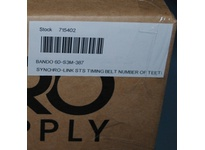 Bando 60-S3M-387 SYNCHRO-LINK STS TIMING BELT NUMBER OF TEETH: 129 WIDTH: 6 MILLIMETER