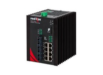 NT24K-11FXE3-SC-80 11-Port Gigabit Managed Industrial Ethernet Switch (8 10/100/1000BaseT 3 100BaseFX singlemod
