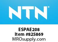 NTN ESPAE208 MOUNTED UNIT (CAST IRON)