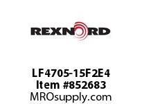 REXNORD LF4705-15F2E4 LF4705-15 F2 T4P N.5 LF4705 15 INCH WIDE MATTOP CHAIN WI