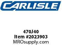 Carlisle 470J40 J Bulk Sleeves