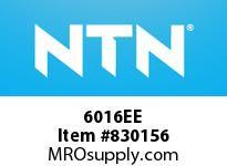 NTN 6016EE Medium Size Ball Bearings