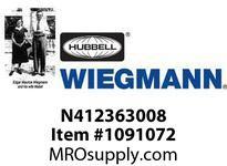 WIEGMANN N412363008 N412SD36X30X8