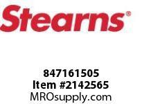 STEARNS 847161505 DRIVE HUB 2.499 BORE 8038806