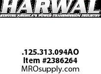 Harwal .125.313.094AO .125 x .313 x .094AO NBR