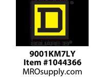 SquareD 9001KM7LY 30MM LIGHT MODULE TRANSF 220V LED YELLOW 9001KM7LY 30MM LIGHT MODULE TRANSF 220V LED YELLOW