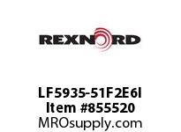 REXNORD LF5935-51F2E6I LF5935-51 F2 T6P N3 LF5935 51 INCH WIDE MATTOP CHAIN WI