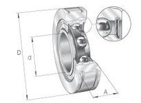 INA BE30 Radial insert ball bearing