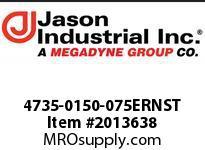 Jason 4735-0150-075ERNST 1-1/2 X 75 MSHA 300PSI TEST