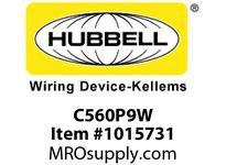 HBL-WDK C560P9W PS C-IEC PLUG 4P5W 60A 120/208V W/T