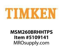 TIMKEN MSM260BRHHTPS Split CRB Housed Unit Assembly