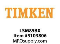 TIMKEN LSM85BX Split CRB Housed Unit Component