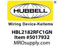 HBL_WDK HBL2182RFC1GN RF CTRL HGR SPLT CIRC 20A 5-20R GN
