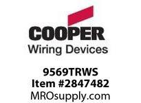 CPR-WDK 9569TRWS GFCI Aspire TR 20A 125V 2P3W WS