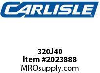 Carlisle 320J40 J Bulk Sleeves