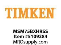 TIMKEN MSM75BXHRSS Split CRB Housed Unit Assembly