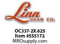 Linn-Gear OC337-2X.625 DRIVE SAVER OVERLOAD CLUTCH  H1