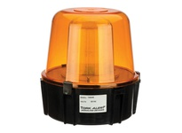NSI TA94AN5 117V FLASHING STROBE WITH OUTER LENS-AMBER