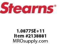STEARNS 108775201018 THRU SHAFTNON STD HUB 205882