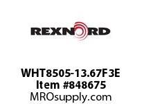 REXNORD WHT8505-13.67F3E WHT8505-13.66 F3 T14PN.75 WHT8505 13.67 INCH WIDE MATTOP CHAI