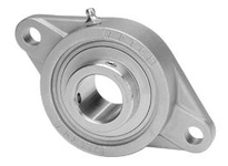 IPTCI Bearing SUCSFL208-24 BORE DIAMETER: 1 1/2 INCH HOUSING: 2 BOLT FLANGE HOUSING MATERIAL: STAINLESS STEEL