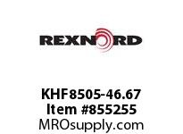 REXNORD KHF8505-46.67 KHF8505-46.67 KHF8505 46.67 INCH WIDE RUBBERTOP M